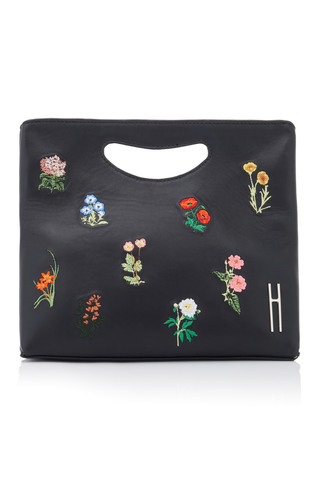 HAYWARD   Hayward 1712 Embroidered Leather Basket Bag   Goxip