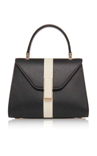 VALEXTRA | Valextra Mini Iside Striped Leather Bag | Goxip
