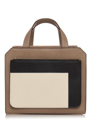 VALEXTRA   Valextra Passepartout Medium Grain Leather Bag   Goxip