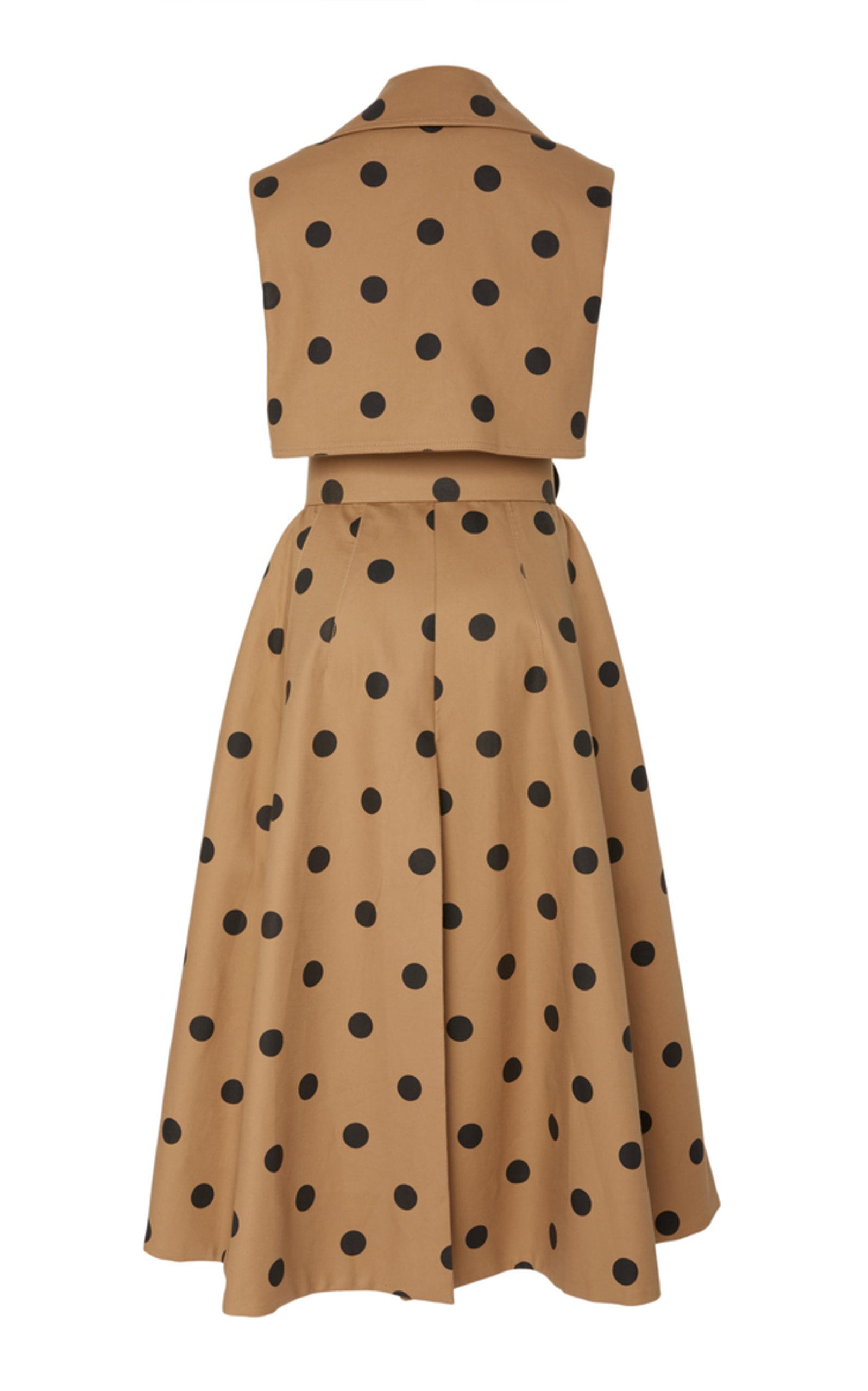 87c200cfea1e01 Oscar de la RentaPolka Dot Day Dress. CLOSE. Loading. Loading