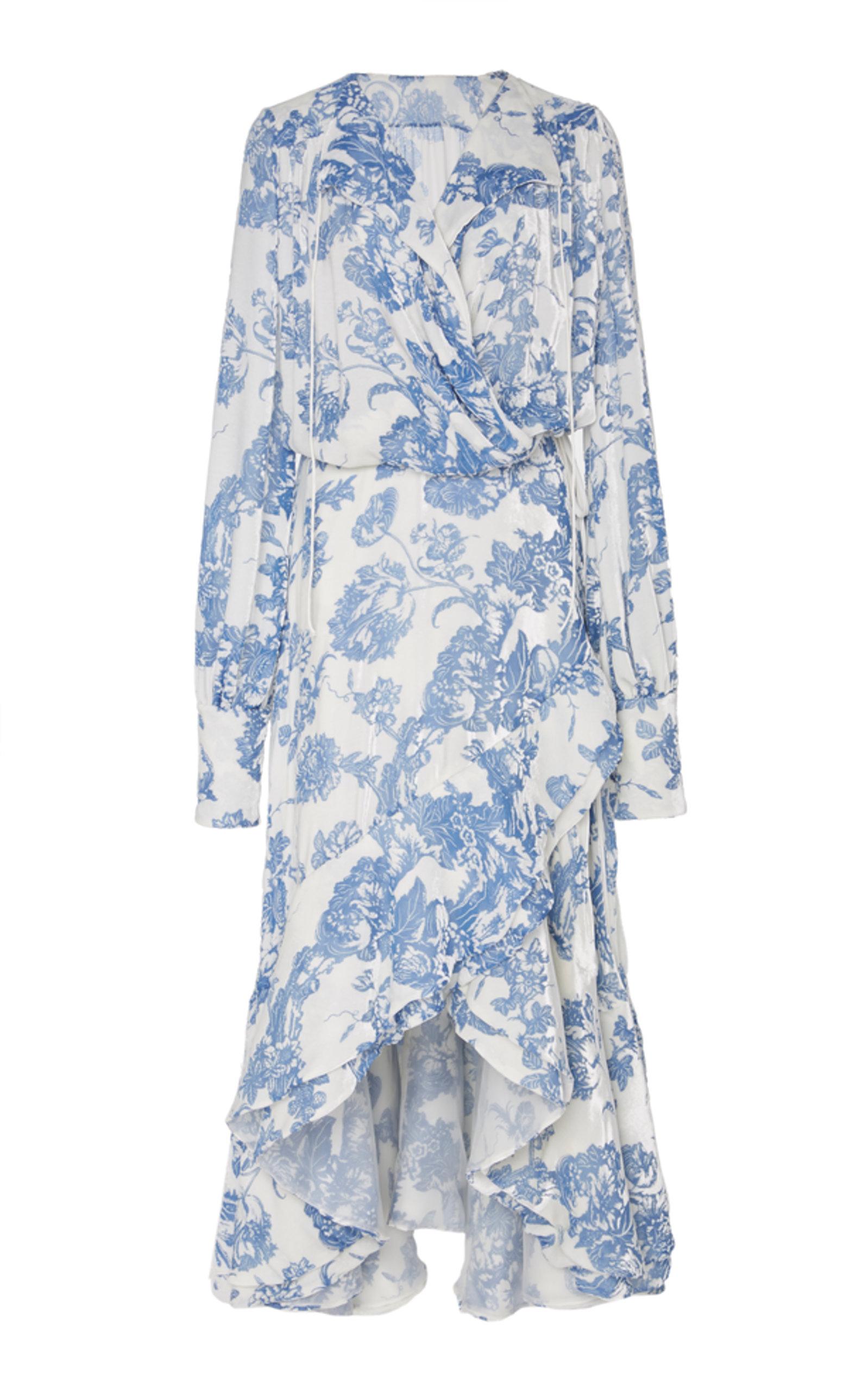 317145ef6230a Long Sleeve Cocktail Dress by Oscar de la Renta