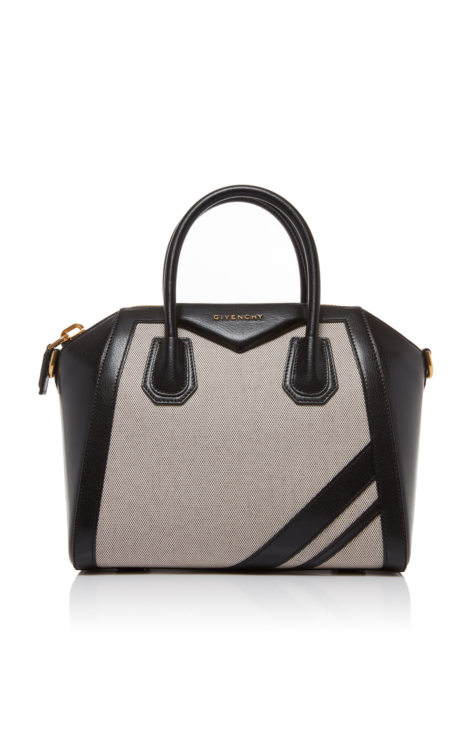 880aa7bfbc GivenchyAntigona Small Leather and Linen Tote. CLOSE. Loading