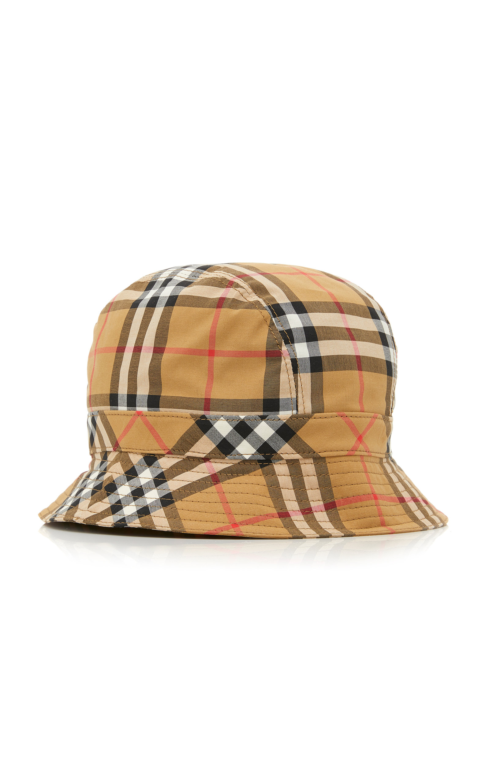 Checked Cotton-Canvas Bucket Hat by Burberry  3ee66eefd4