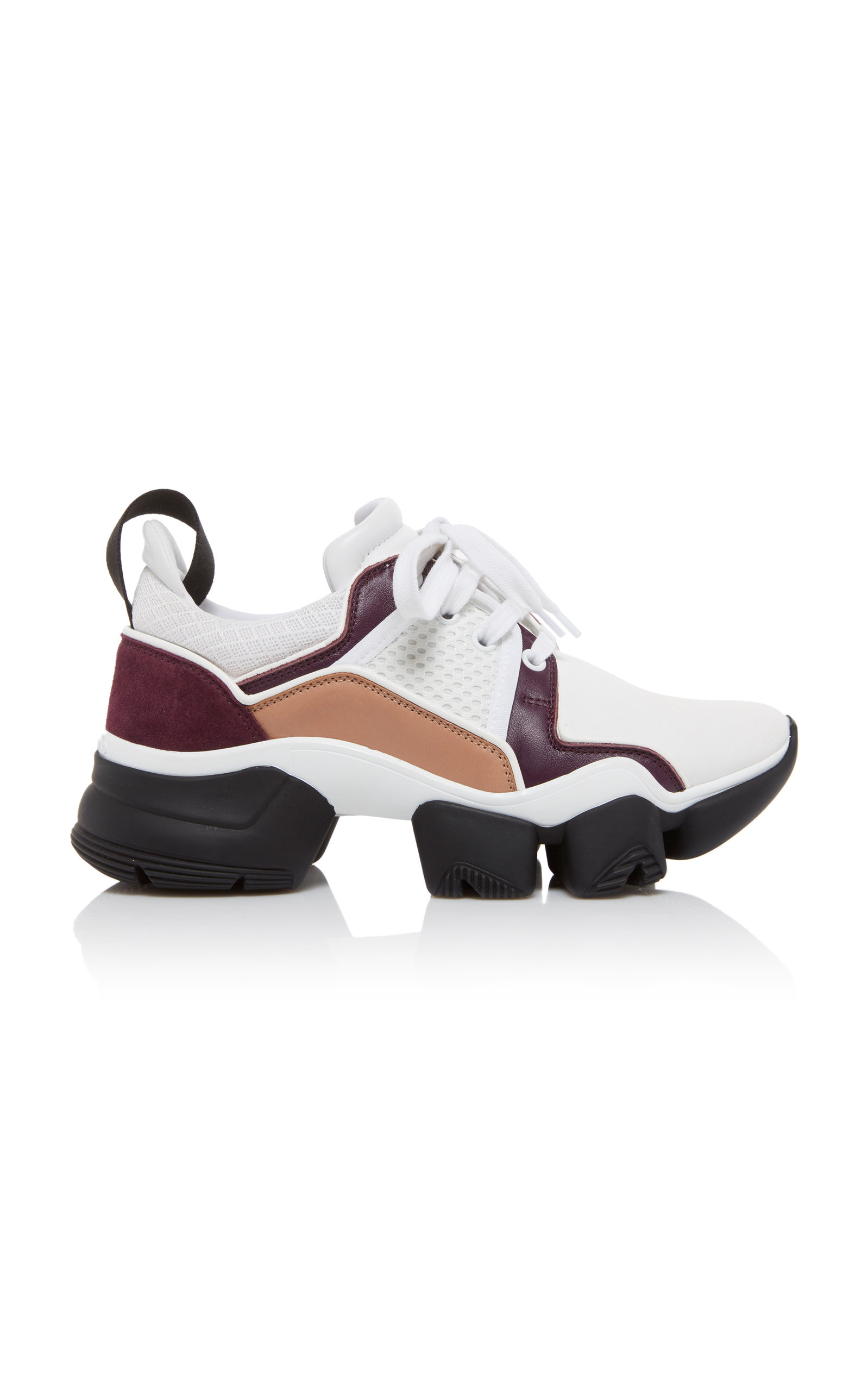 Jaw Low-Top Leather Sneakers by Givenchy   Moda Operandi ac7ff715d1