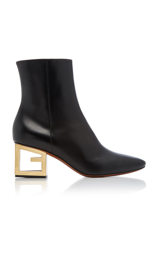 GIVENCHY | Givenchy Leather Ankle Boots | Goxip