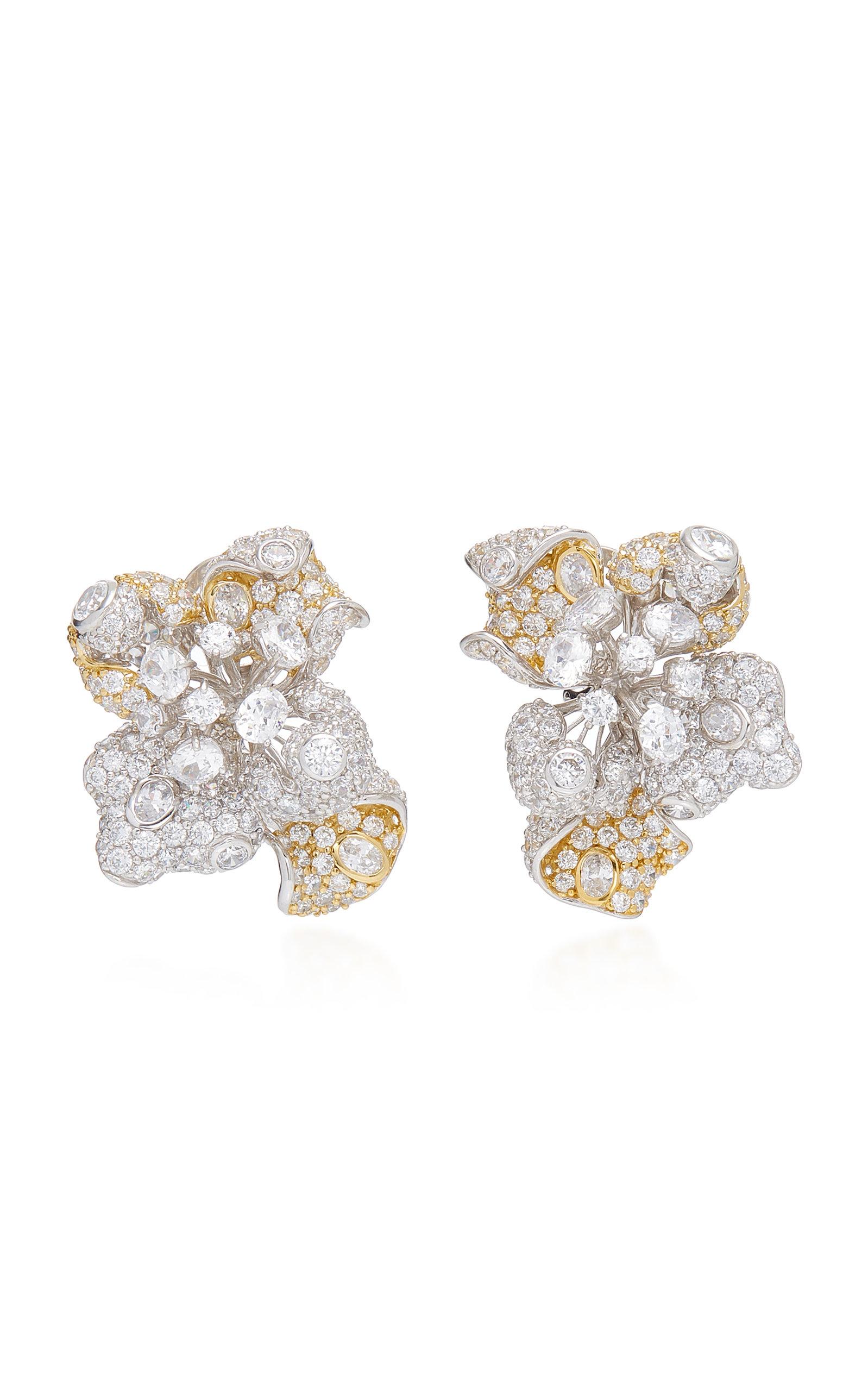 ANABELA CHAN Bloomingdale 18K Gold Studs