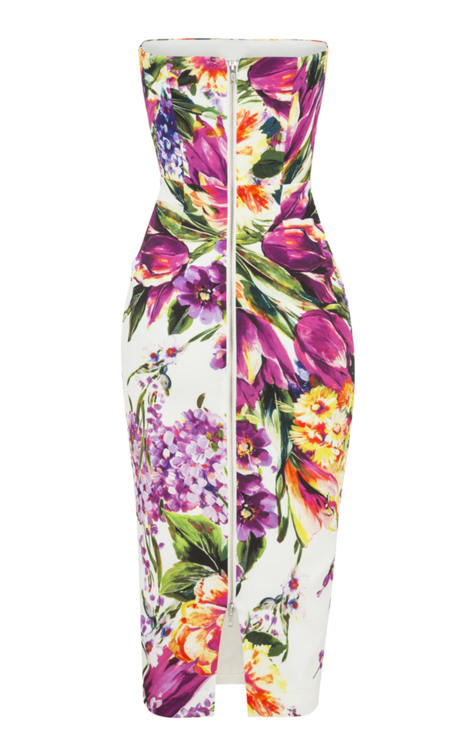 Sophia Strapless Lady Dress Alex Perry w3ZOikuA