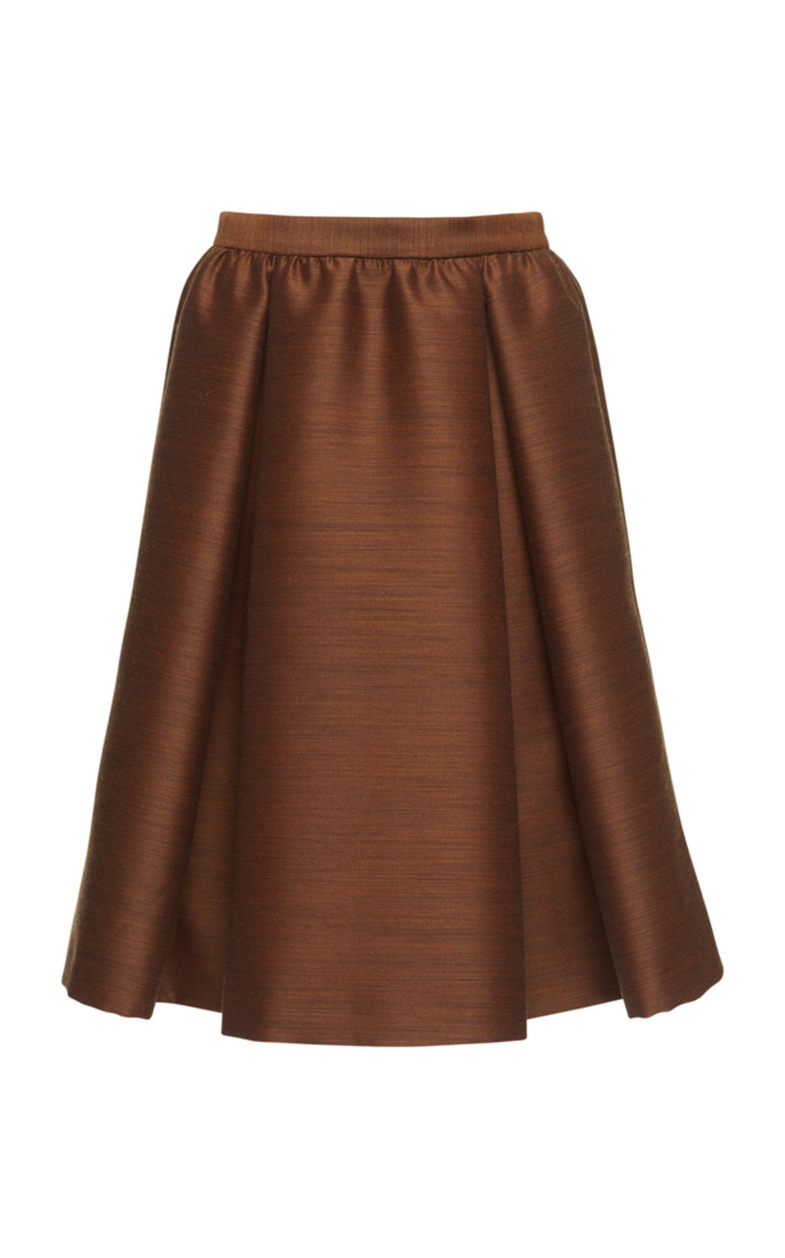 Bottega Veneta Skirts Draped A-line skirt
