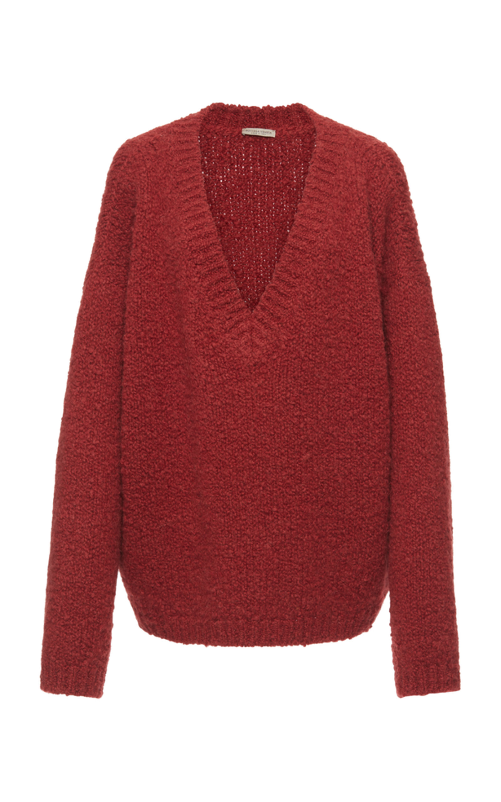 BOTTEGA VENETA | Bottega Veneta Textured V-Neck Sweater | Goxip
