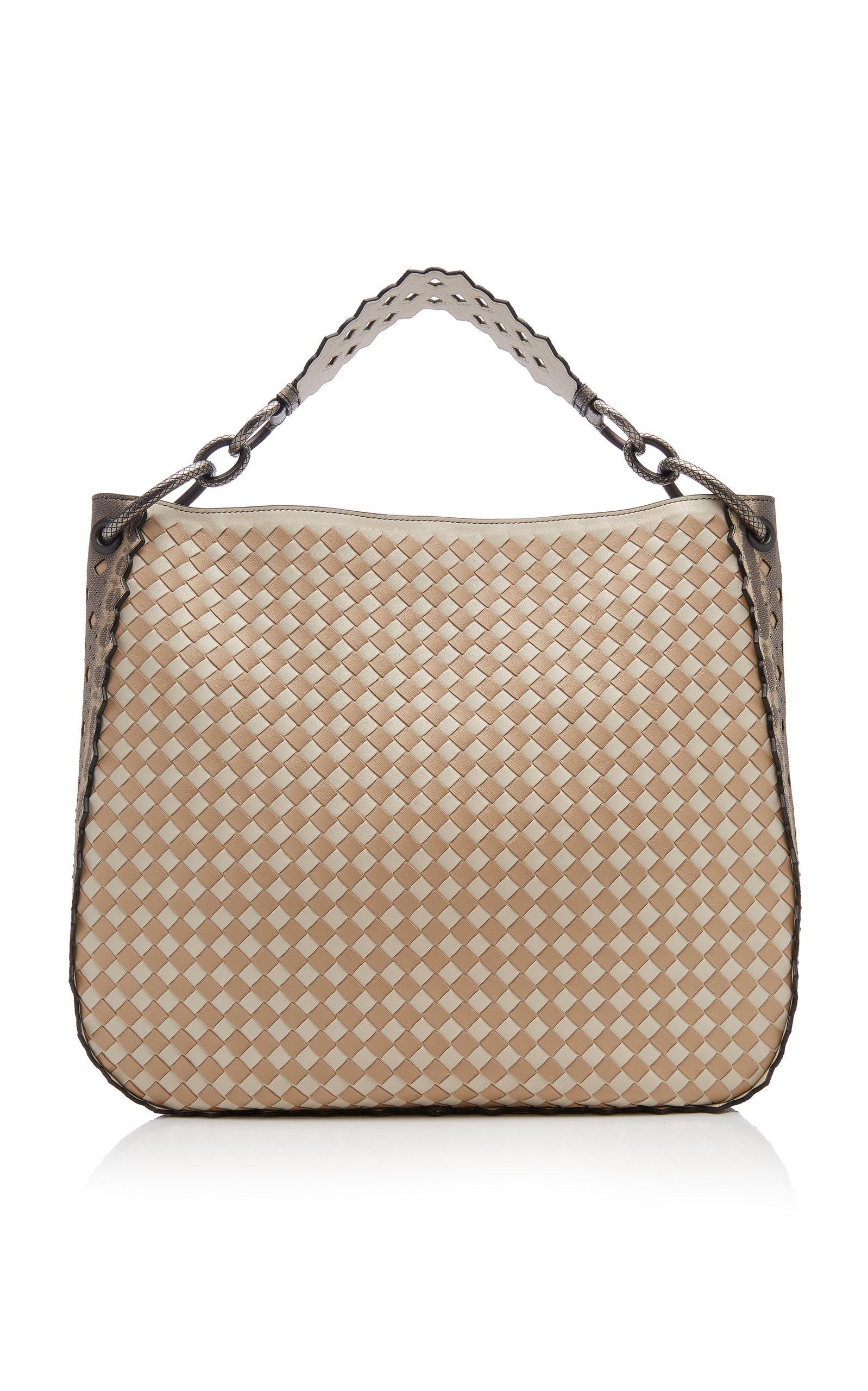 ee593bd447 Bottega VenetaLoop Medium Hobo Leather Bag. CLOSE. Loading