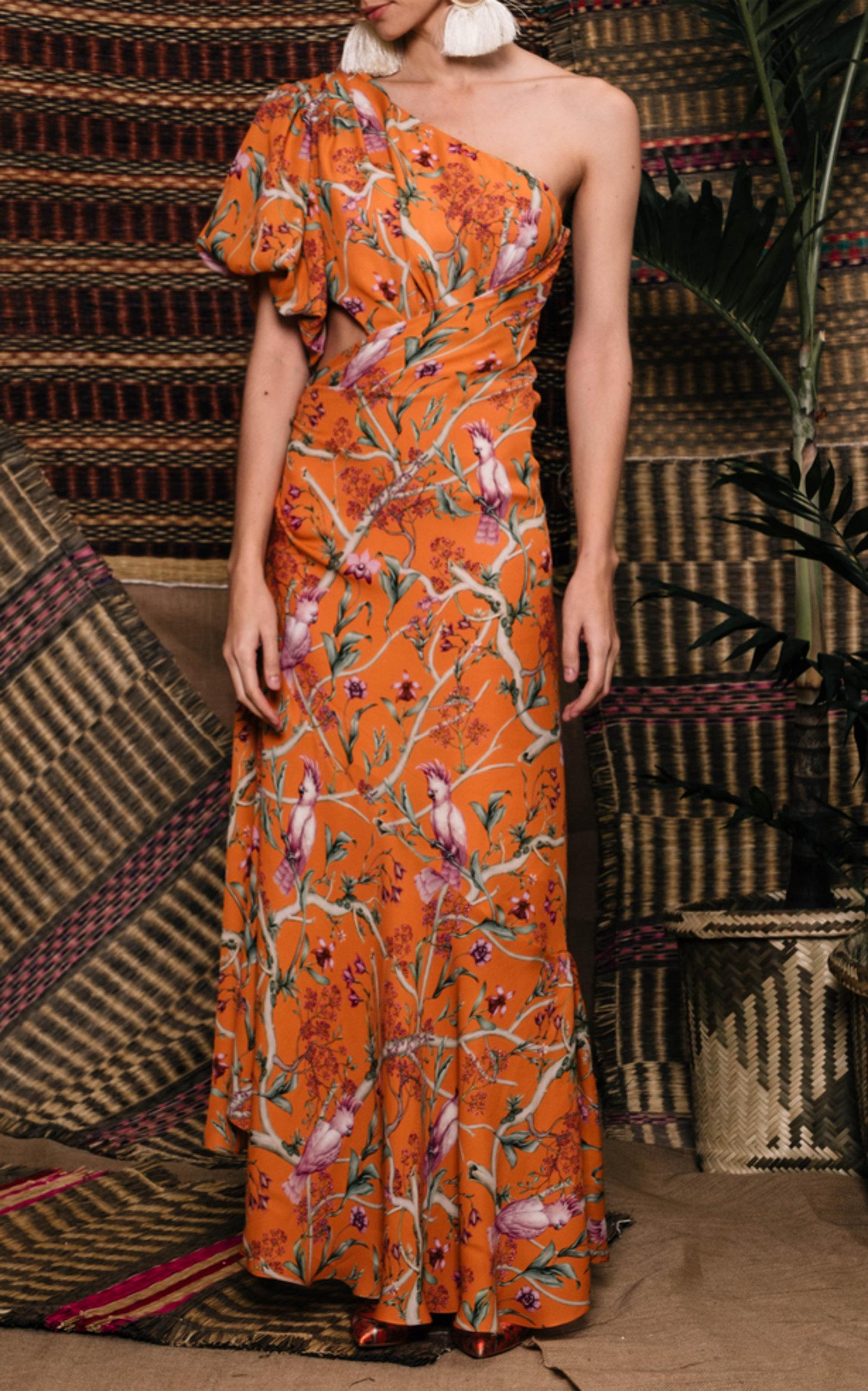 1bf88debf35 Johanna OrtizFirefly Silk Georgette Dress. CLOSE. Loading