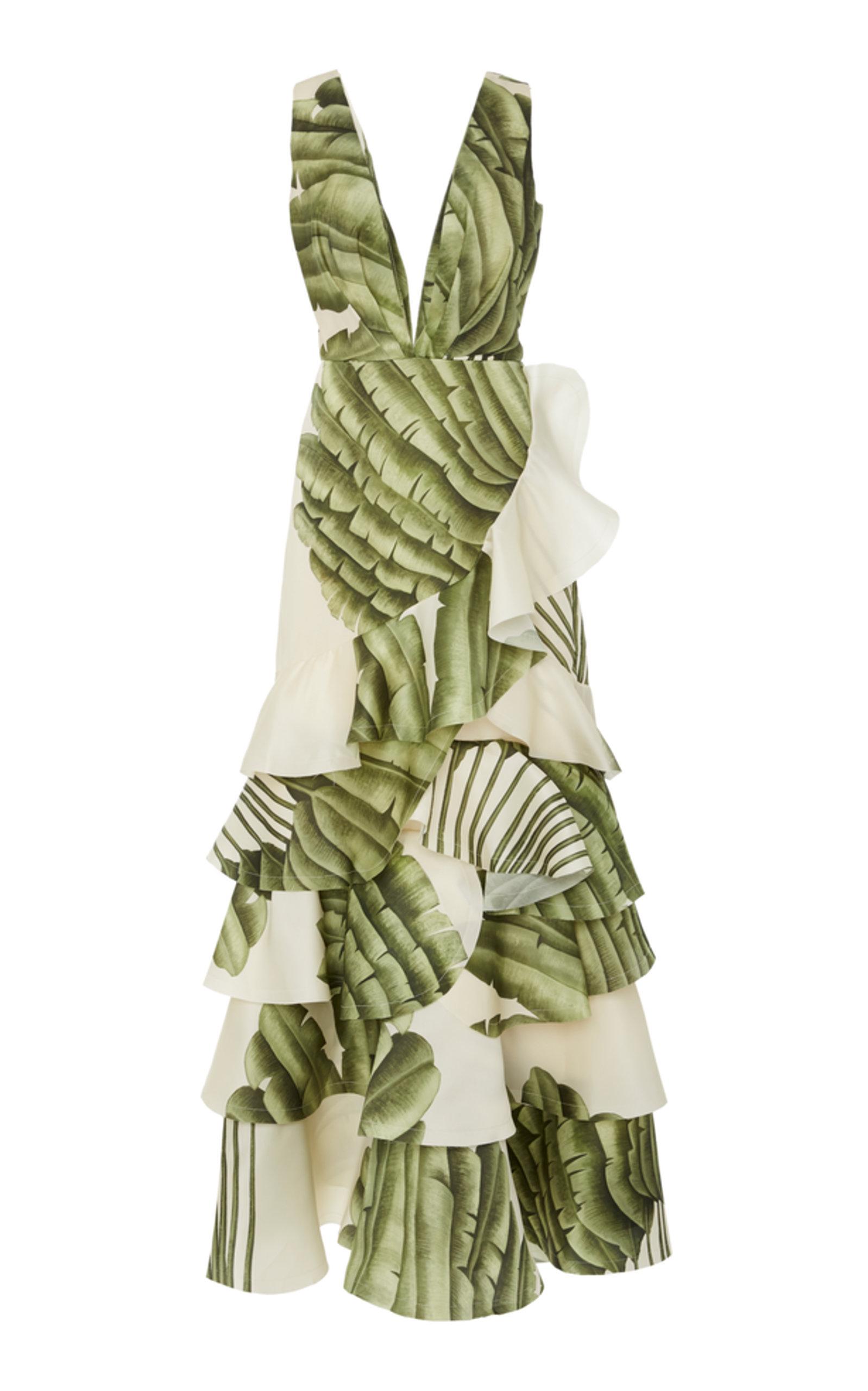b63b2a2ccd0 Johanna OrtizCoconut Palm Organza Dress. CLOSE. Loading