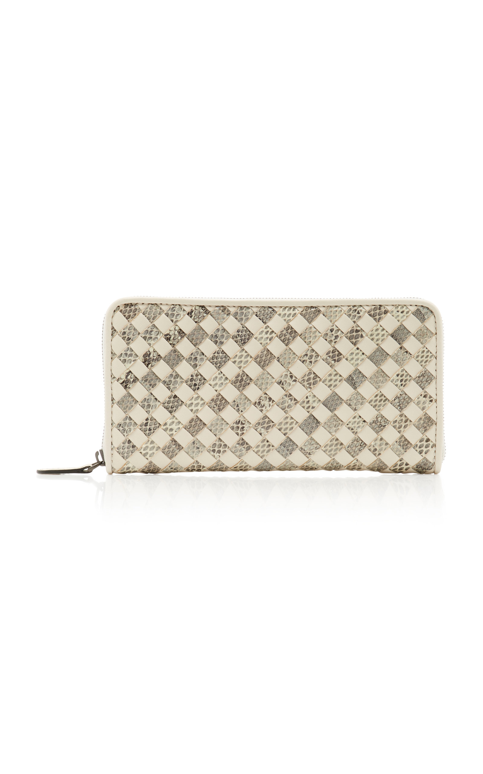 380748da4db9f2 Woven Leather Wallet by Bottega Veneta | Moda Operandi