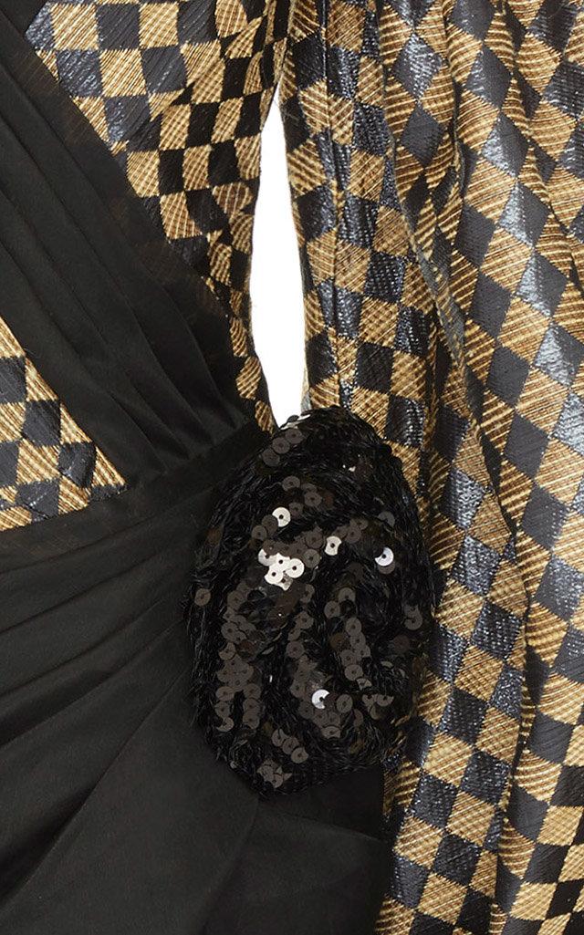 f82b9cbb BalmainOff Shoulder Balloon Sl Diamond Dress. CLOSE. Loading. Loading.  Loading