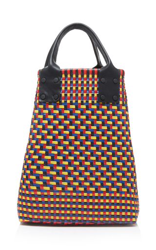 Truss Folded Tote With Leather Handles mBimyk3e