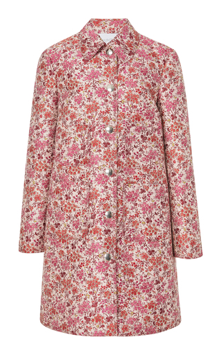 GIAMBATTISTA VALLI | Giambattista Valli Knee Length Floral Coat | Goxip