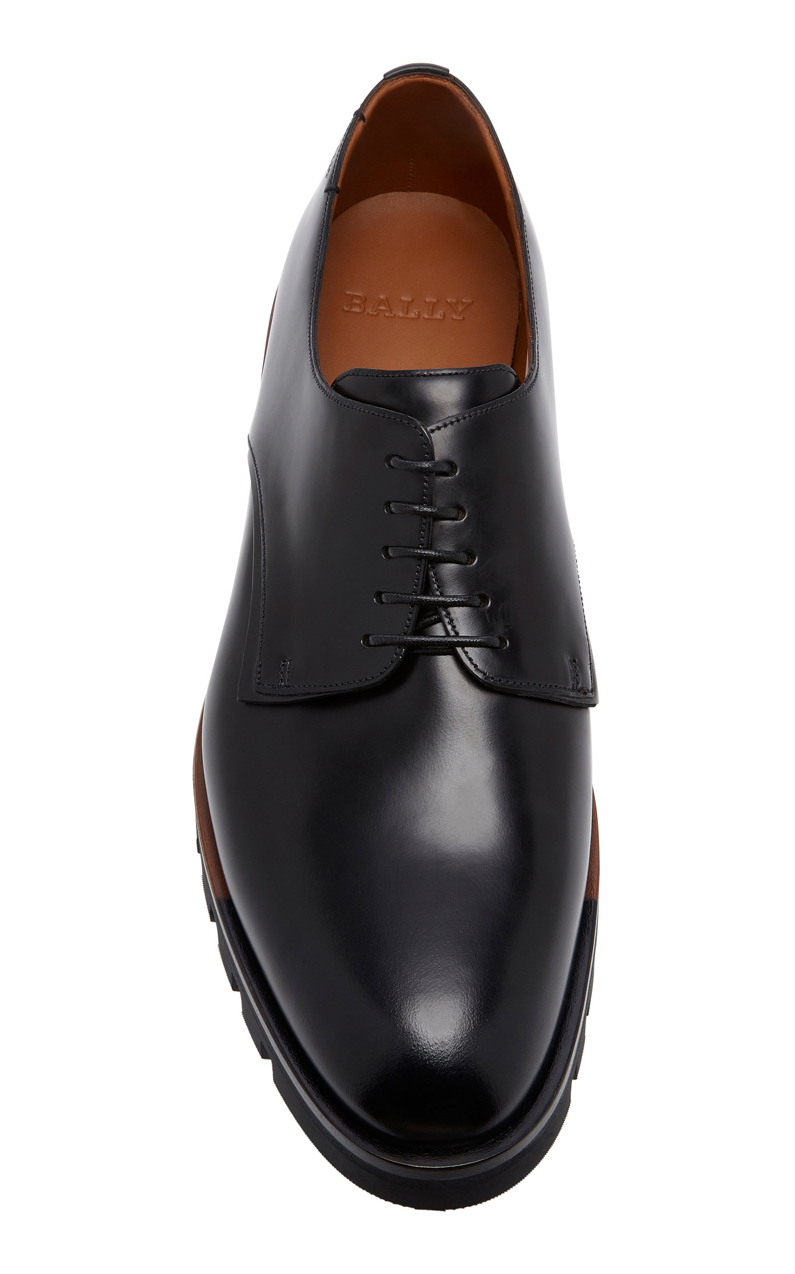 d59fd19bfbc7 Barnis Leather Derby Shoes by Bally