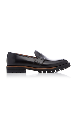 BALLY | Bally Barox Leather Penny Loafers | Goxip