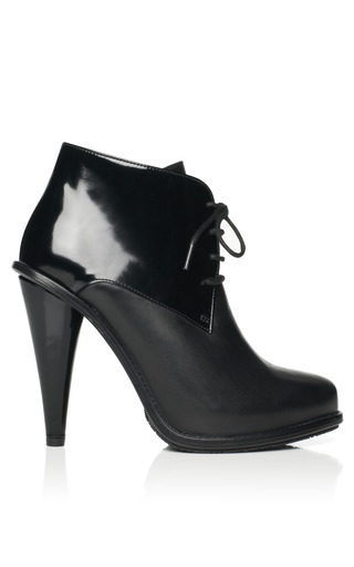Medium six london black jeanette bootie