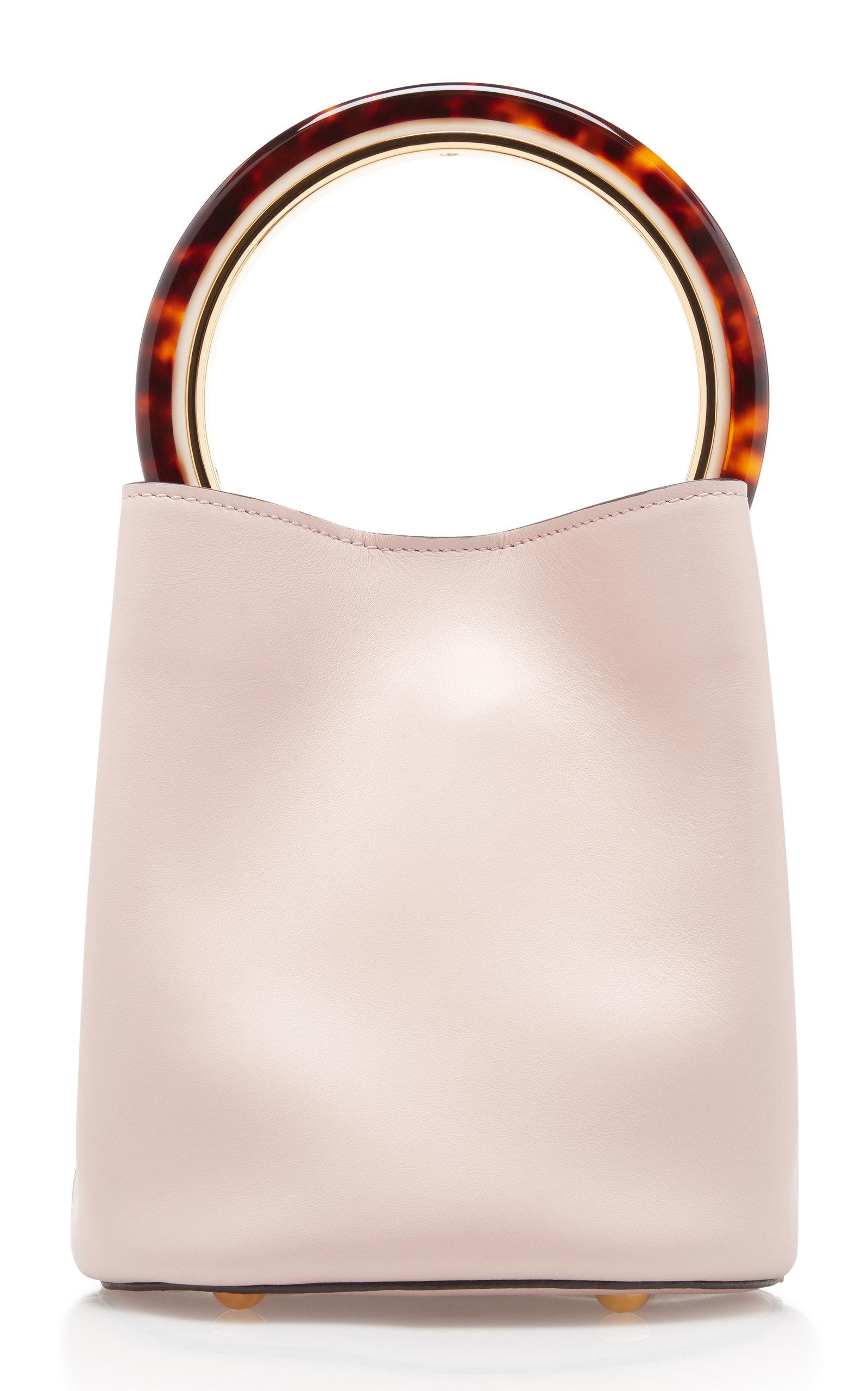 290d3b755 Pannier Leather Bucket Bag by Marni | Moda Operandi