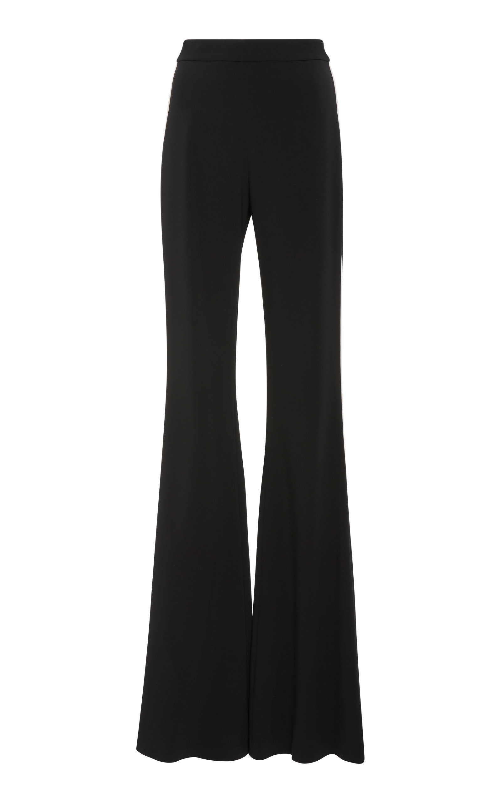 Flare Pant Faille Tuxedo Brandon Maxwell Outlet Wiki Sale Low Shipping ZwEJkSc3Q