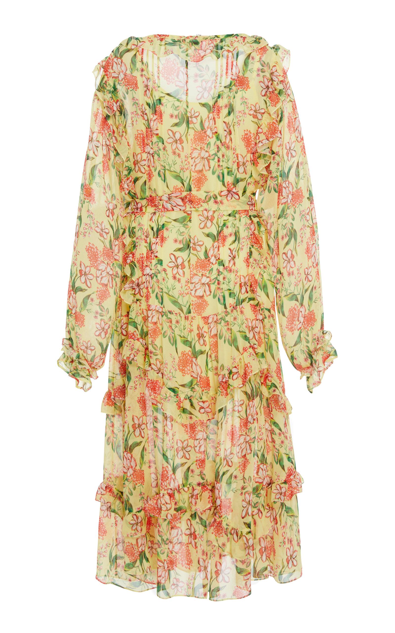 Everett Silk Print Dress Marissa Webb Sale Cheapest Price Discount Low Shipping Fee Footlocker Sale Online SbHTa