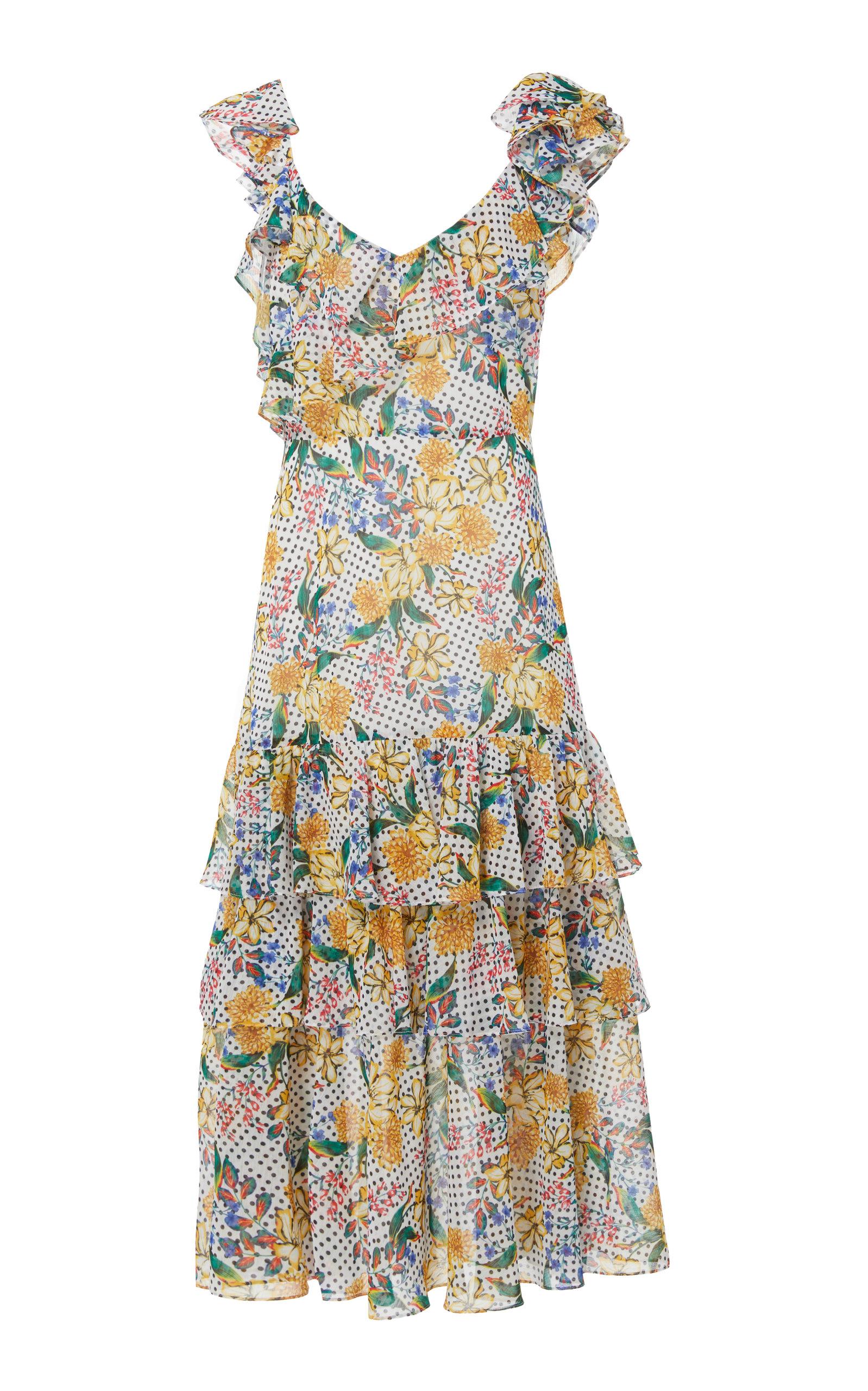 Lisandra Print Dress Marissa Webb 9MW8fiTE1