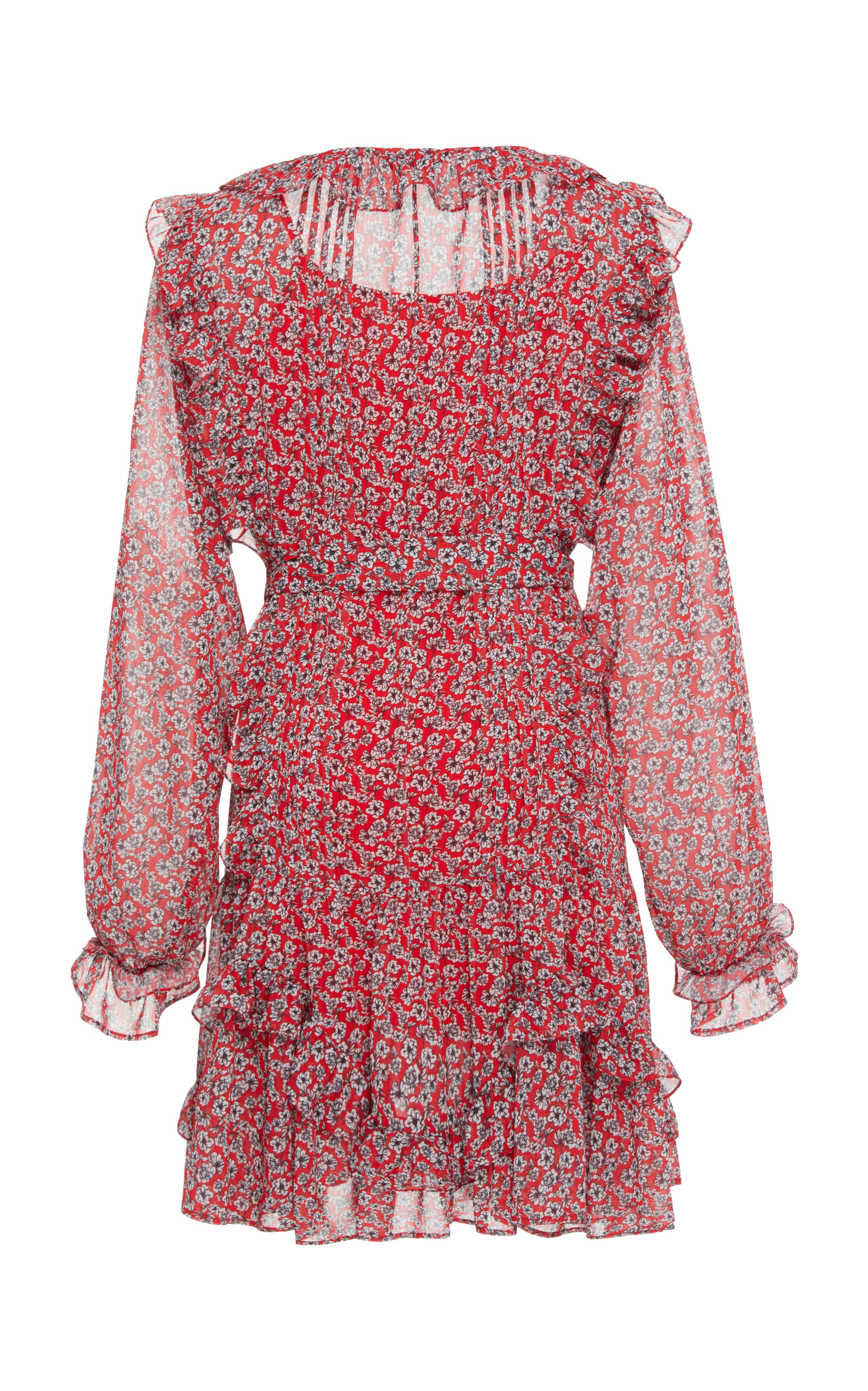Everett Print Mini Dress Marissa Webb zraEDC7q