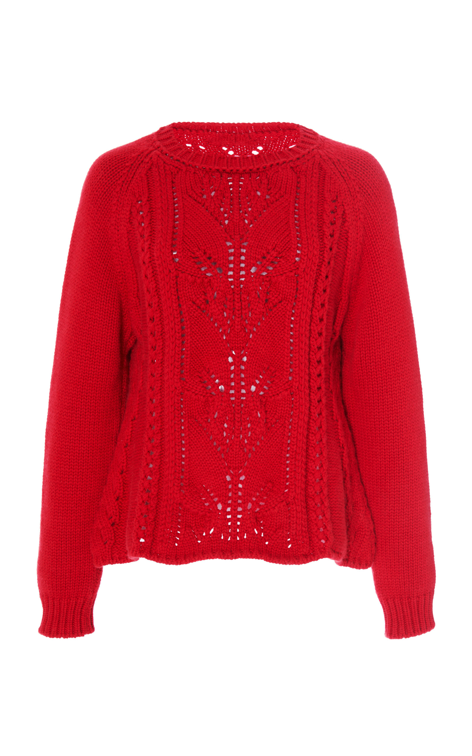 Brock Collection OMEOPATA WOOL CASHMERE SWEATER