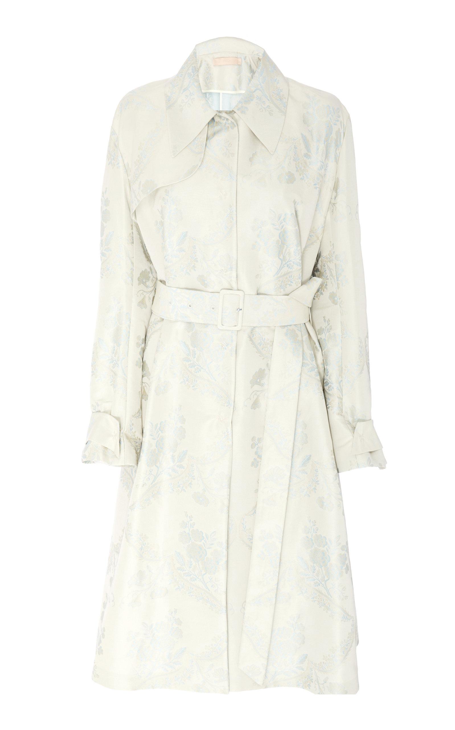 94de46ff49f Orgosolo Cotton Silk Trench Coat by Brock Collection | Moda Operandi
