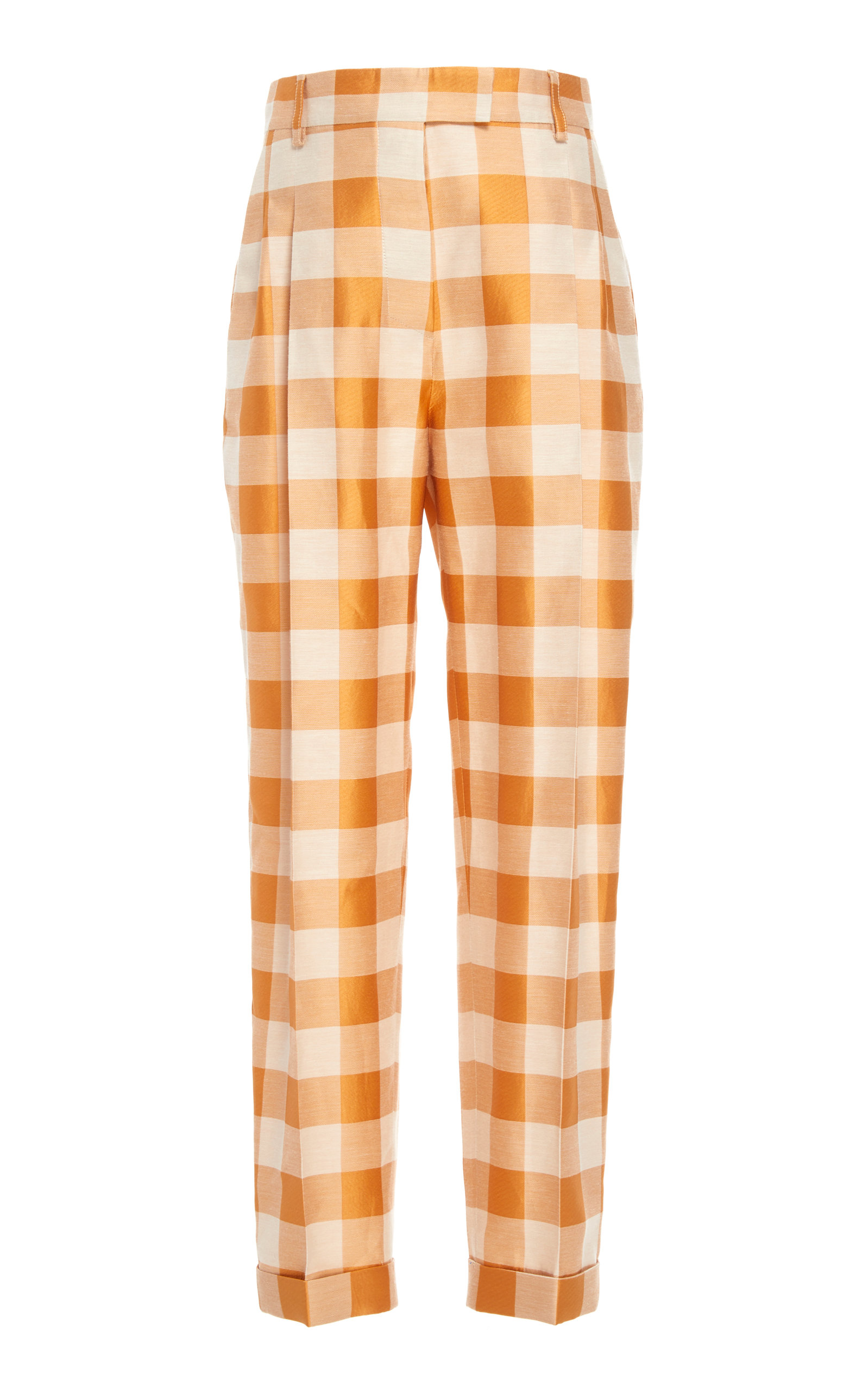 Omar Plaid Straight Leg Pant by Brock Collection
