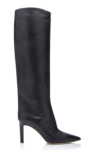 JIMMY CHOO | Jimmy Choo Mavis Leather Boots | Goxip