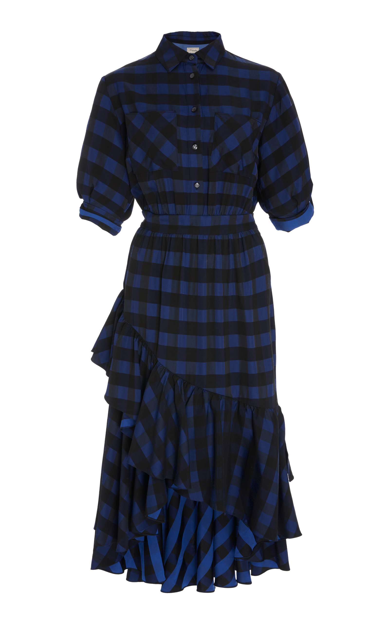 Stirling Plaid Dress Temperley London Limit Discount OuFGA