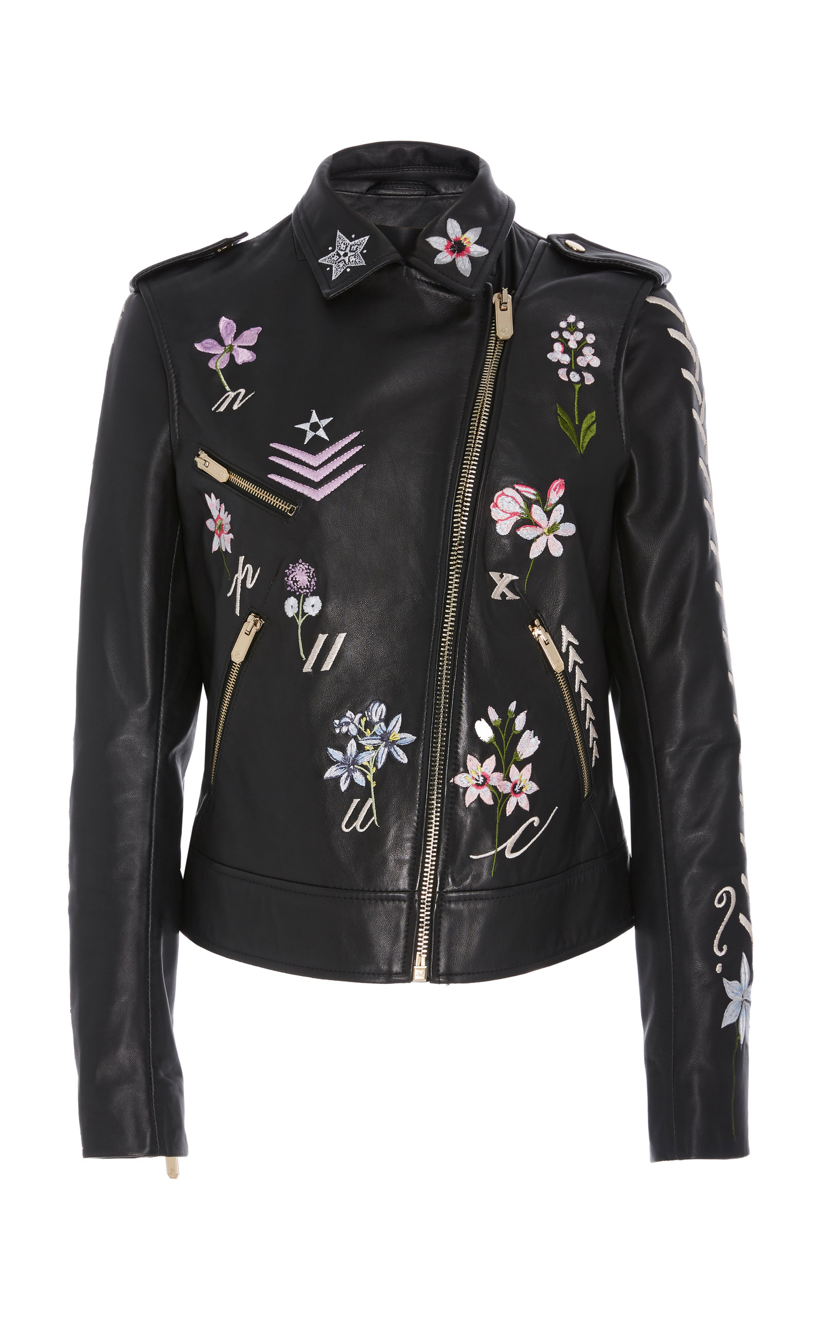 Temperley London RYDER EMBROIDERED JACKET