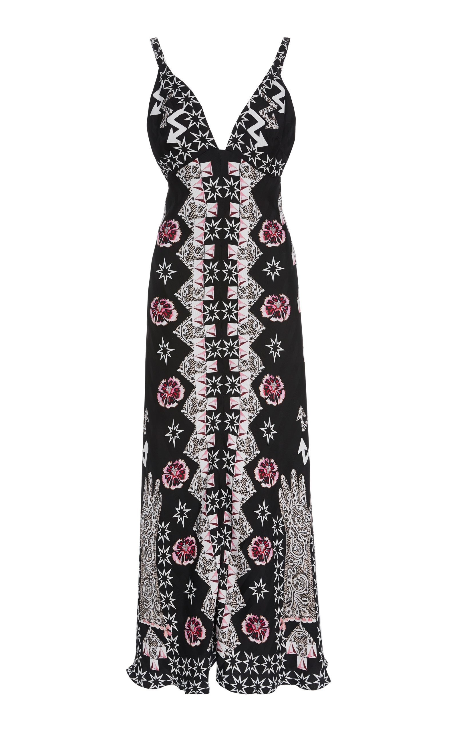 Temperley London FLUX STRAPPY DRESS