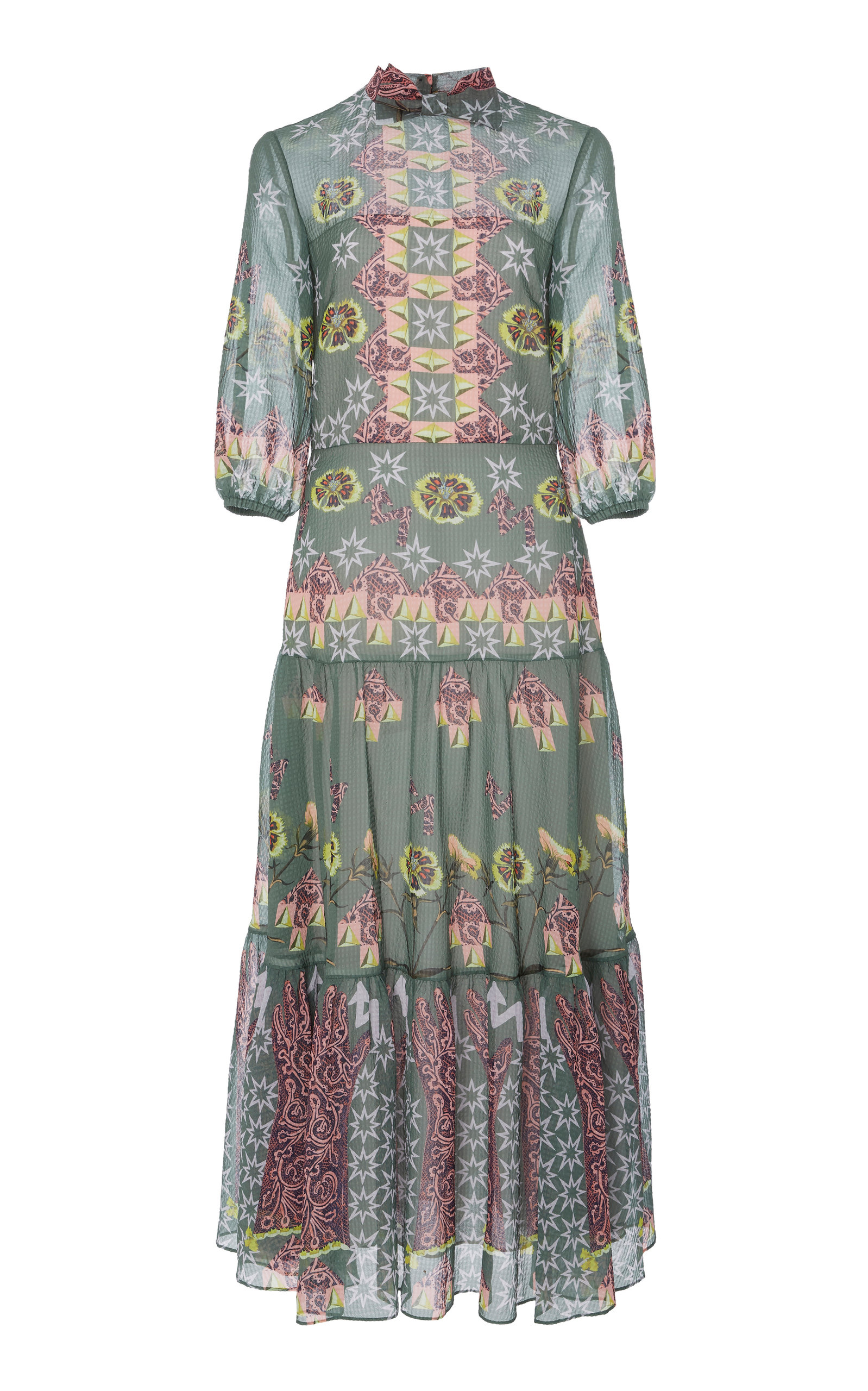 Temperley London FLUX DAY DRESS