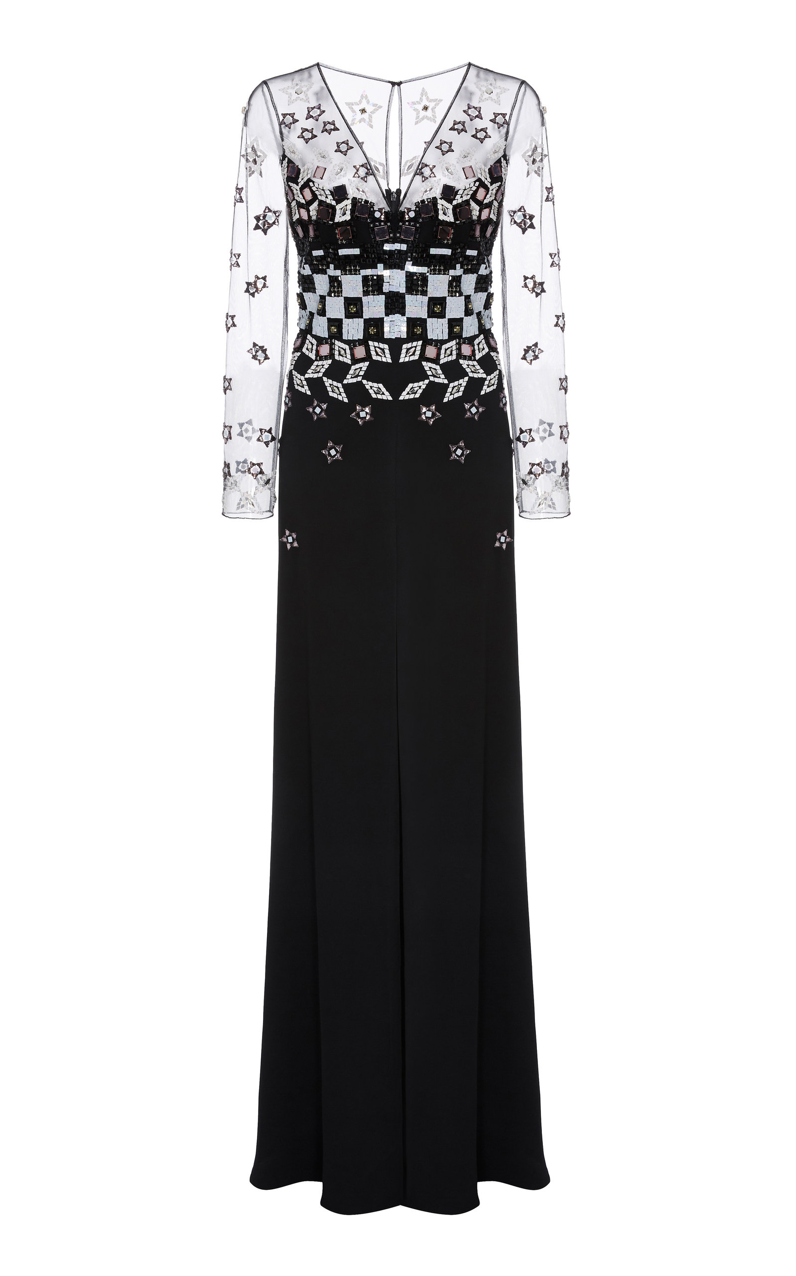 Temperley London SPLENDOR SLEEVED DRESS