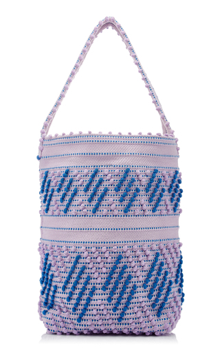 ANTONELLO | Antonello Bultei Textured Woven Shoulder Bag | Goxip