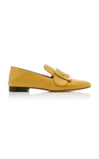 BALLY | Bally Janelle Buckled Leather Loafers | Goxip