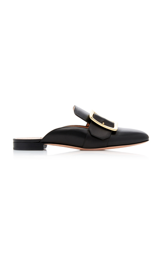 BALLY | Bally Janesse Leather Mules | Goxip