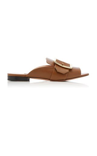 BALLY | Bally Janaya Buckled Leather Sandals | Goxip