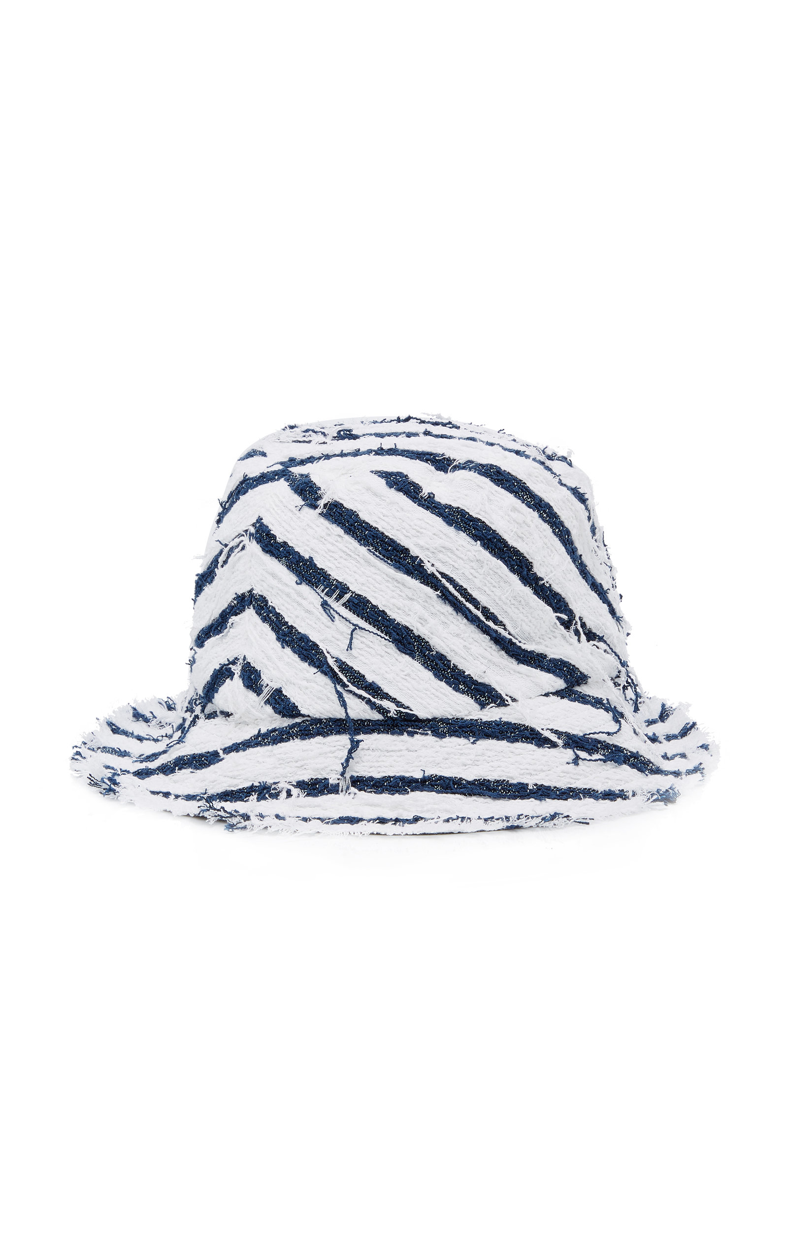 TOBY STRIPED CANVAS BUCKET HAT