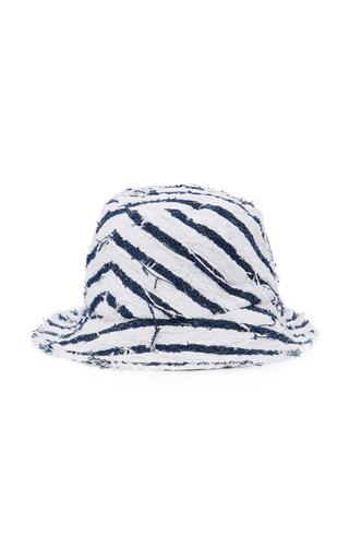 f6bd068b1e13e Toby Striped Canvas Bucket Hat by Eugenia Kim