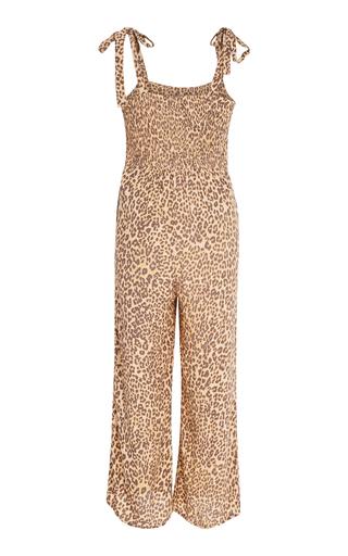 4beb2c9f7f Faithfull The BrandElsa Leopard-Print Voile Jumpsuit