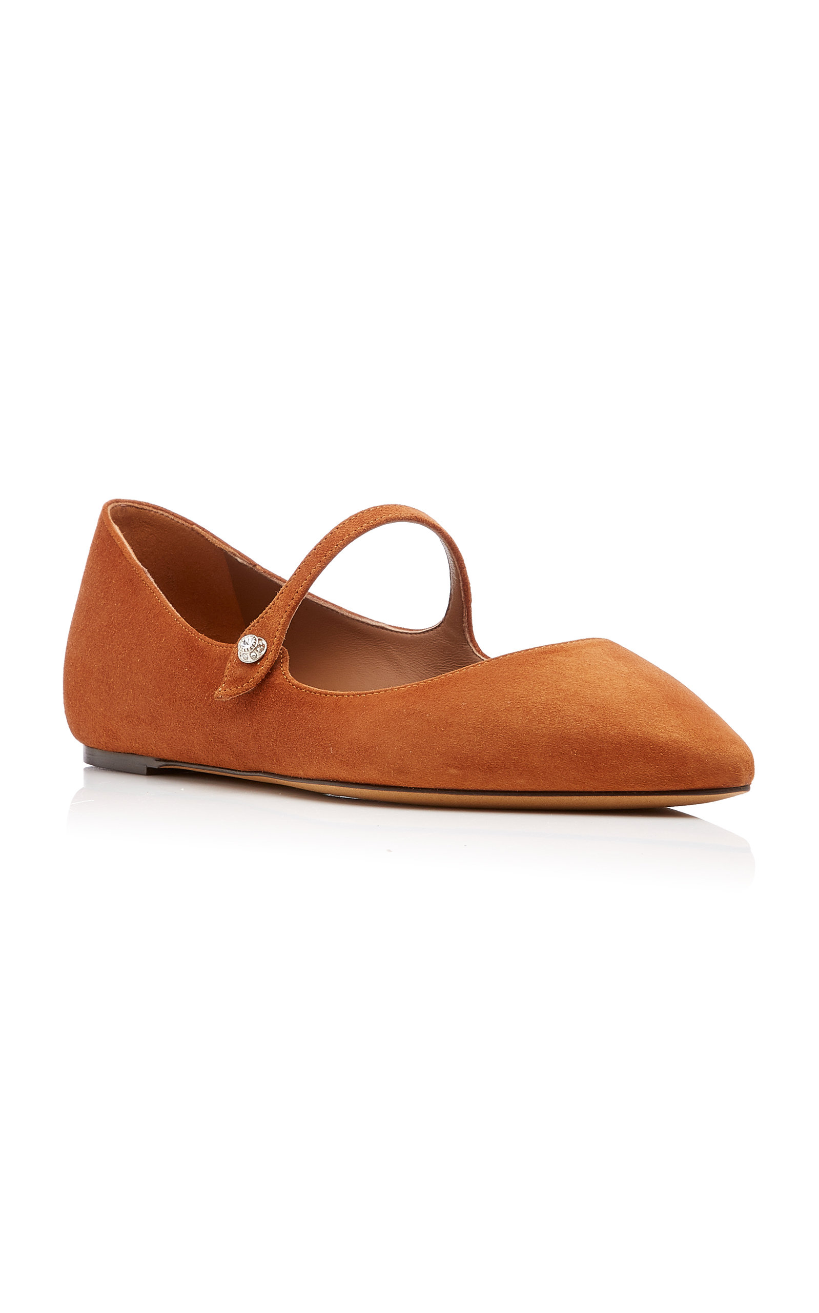 c292bfa4ad8 Hermione Suede Flats by Tabitha Simmons