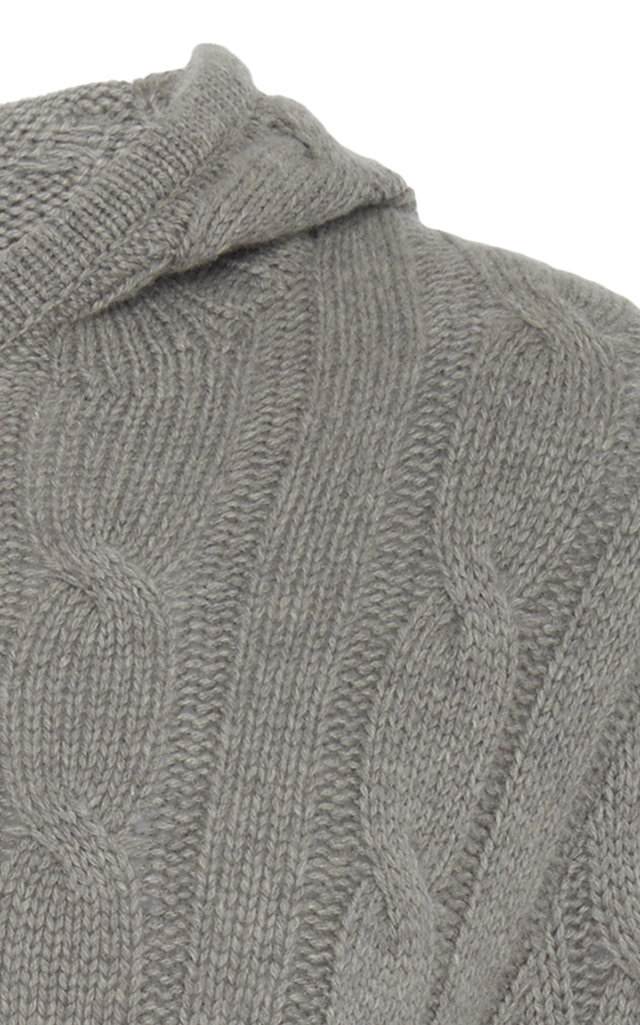 acb22e0a6 Ralph LaurenCable Knit Cashmere Hoodie. CLOSE. Loading. Loading. Loading