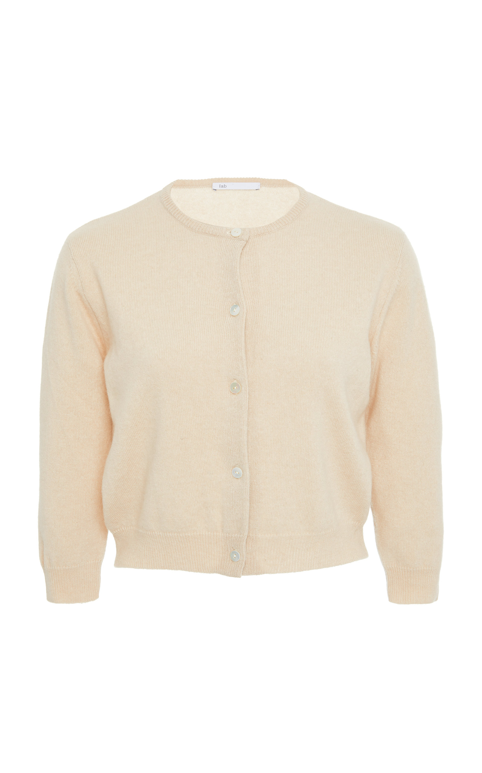 284f1ccb89 Cropped Cashmere Cardigan by lab