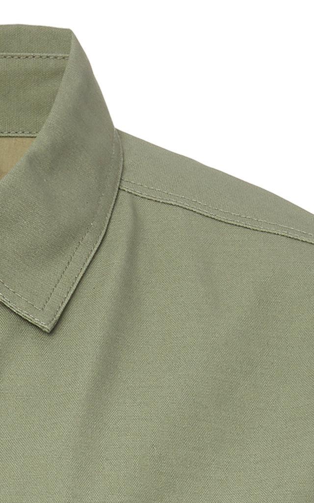 FRAME Cottons TWO-POCKET COTTON-POPLIN ARMY JACKET