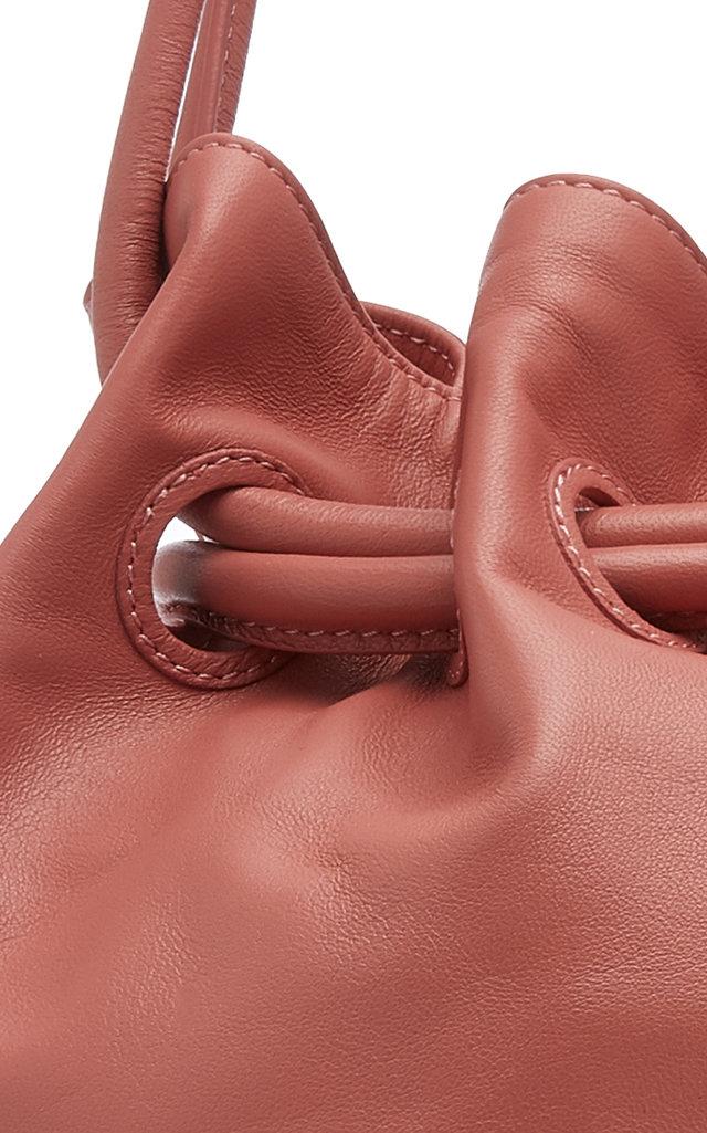 Mansur Gavriel Totes Leather Drawstring Pouch
