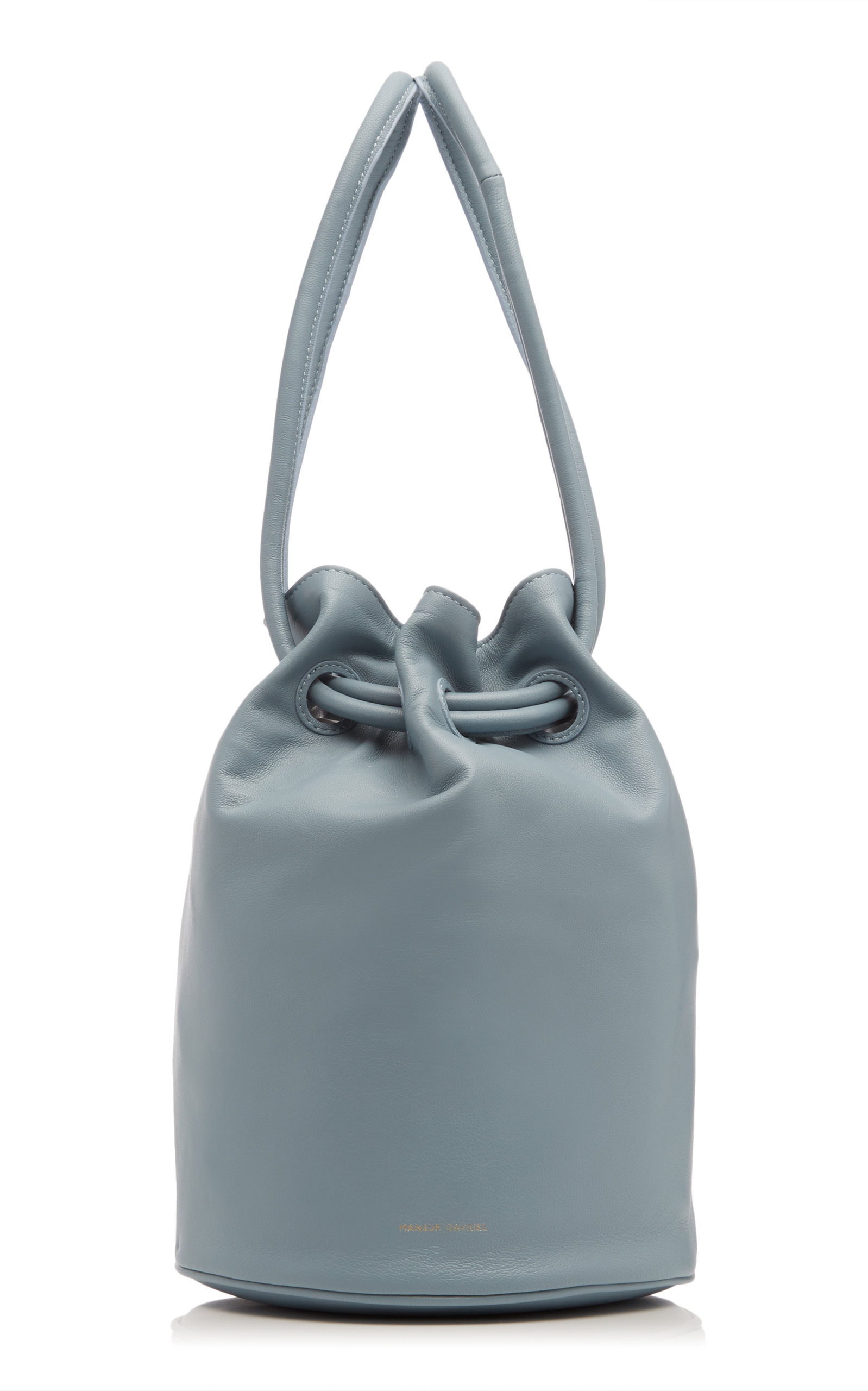 Mansur Gavriel Accessories LEATHER DRAWSTRING POUCH